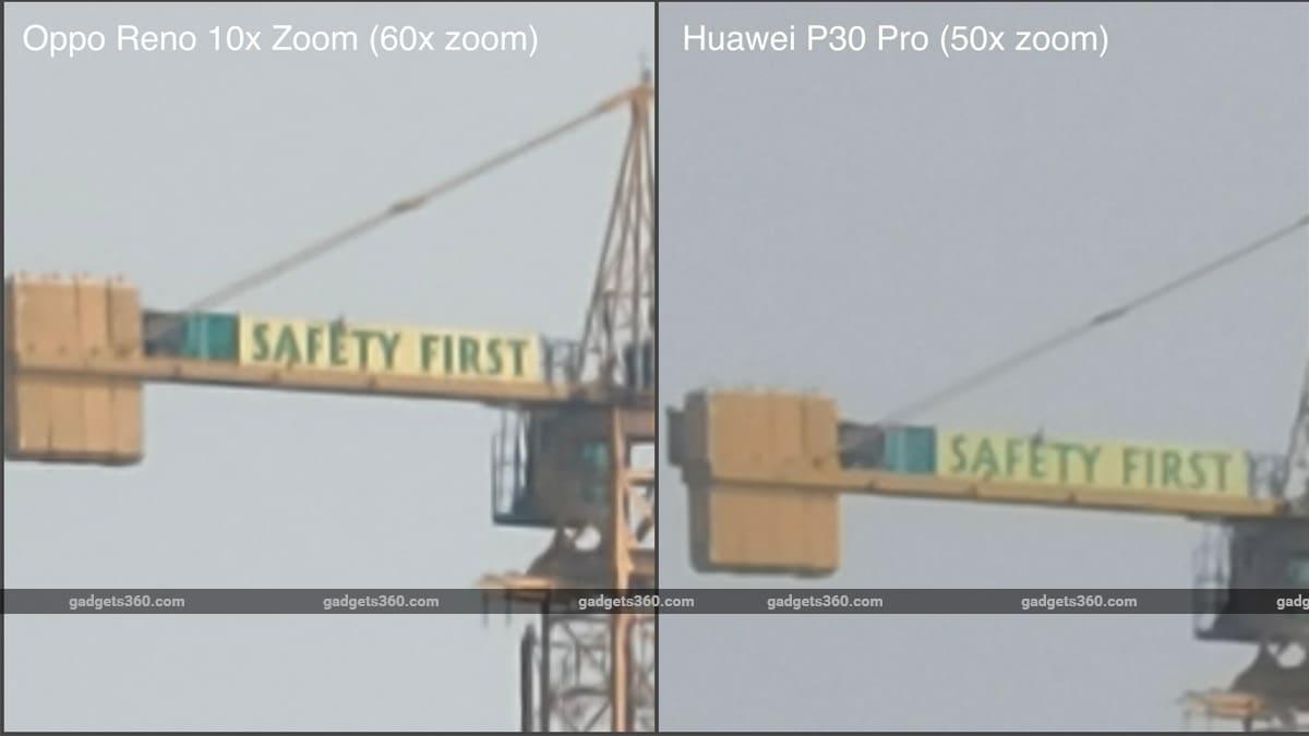Zoom camera tech oppo reno huawie P30 pro Huawei