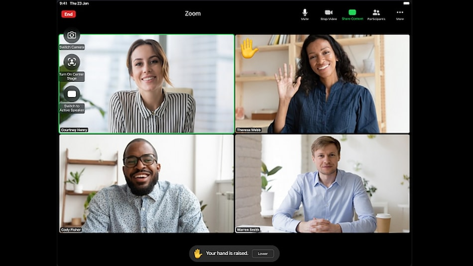 Zoom Update Adds 'Raise Hand', 'Thumbs Up' Gesture on iPad, Focus Mode, Mobile to Desktop Call Switching, More
