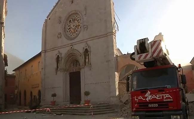 Italy Reels As New Earthquake Sows Terror, Flattens Historic Basilica