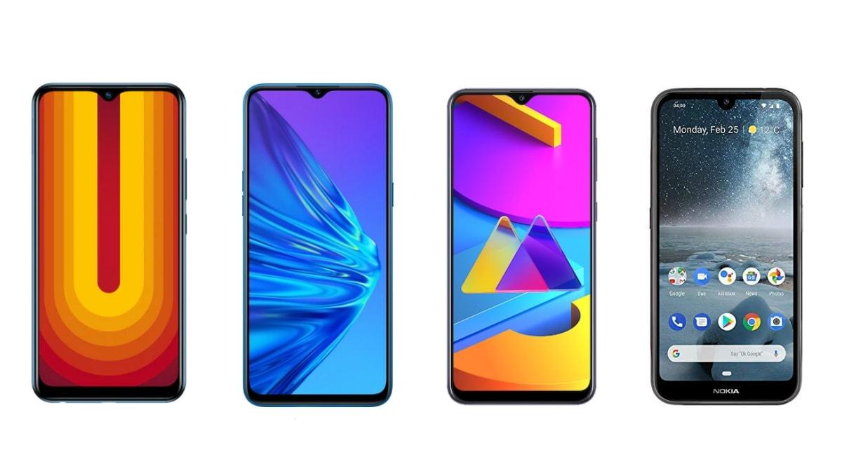 Vivo U10 vs Realme 5 vs Samsung Galaxy M10s vs Nokia 4.2: Price in India, Specifications Compared