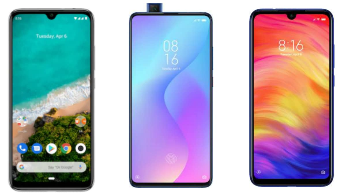 Xiaomi Mi A3 vs Redmi K20 vs Redmi Note 7 Pro: Price