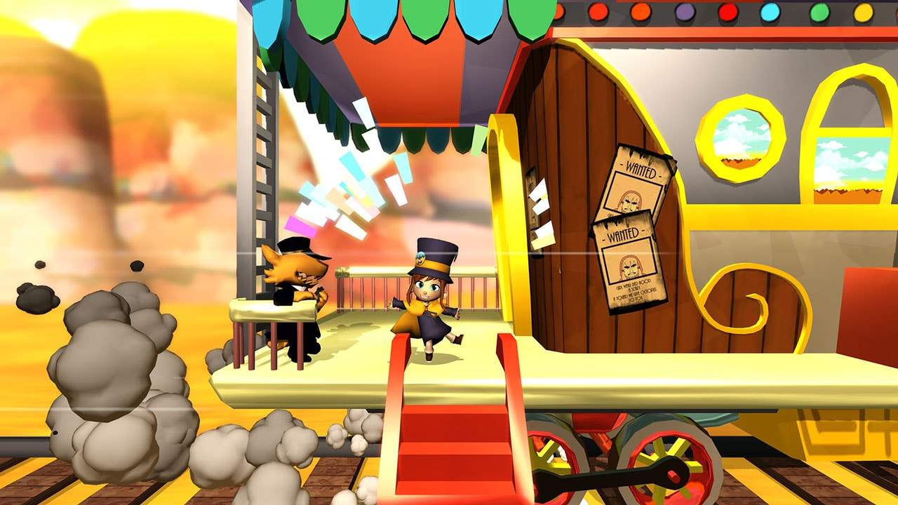 a shawl in time trainwreck A Hat in Time