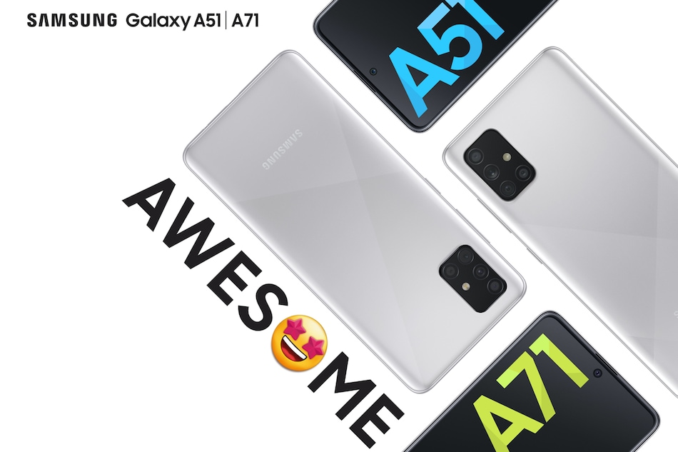 Samsung Galaxy A51 and Galaxy A71, the Perfect Mid-Segment Smartphones