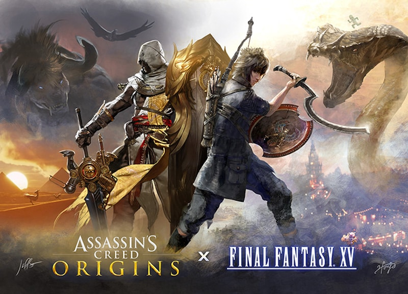 Final Fantasy 15 is getting Assassin's Creed DLC because why not