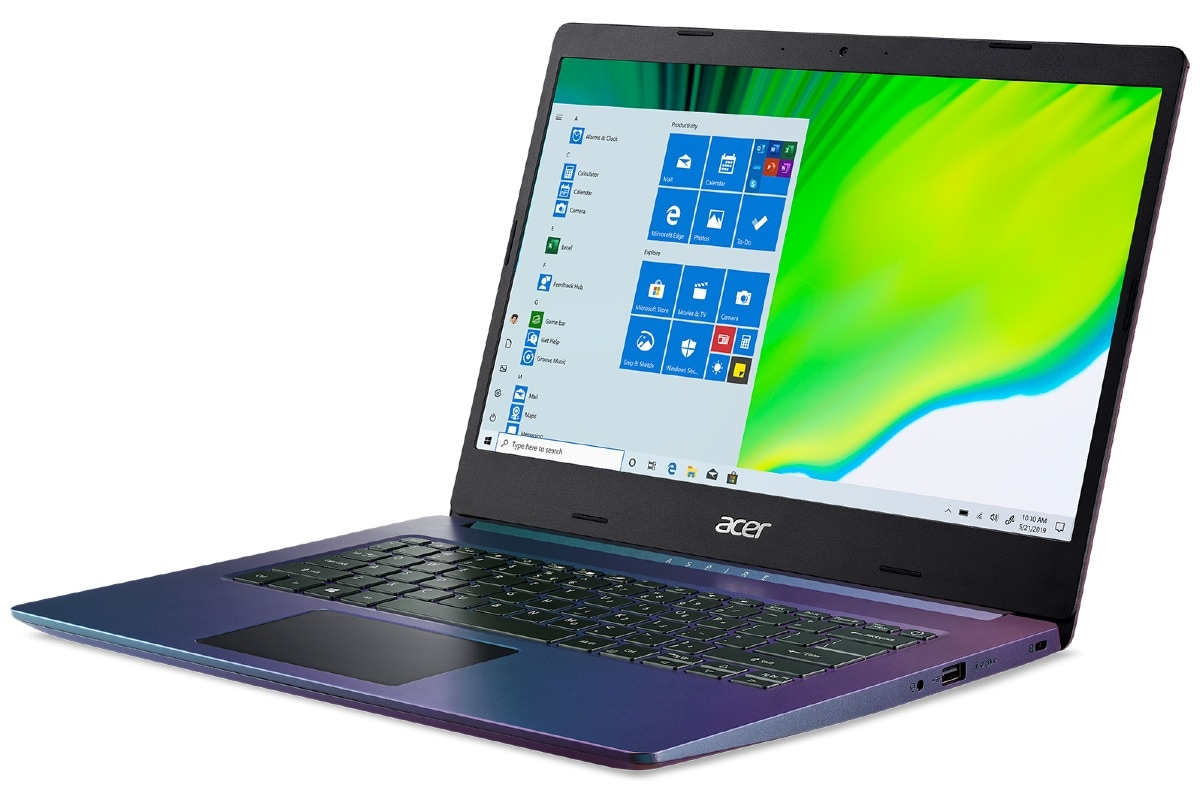 Acer Aspire 5 Magic Purple Edition With 10th-Gen Intel Core i3 Processor Launched in India