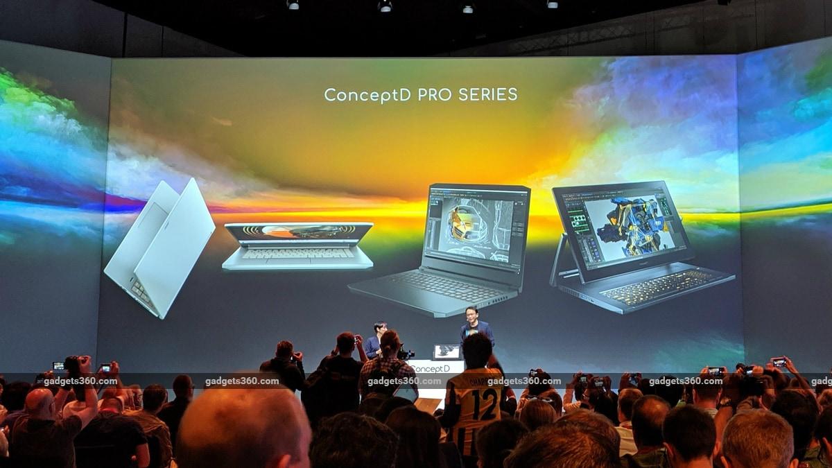 Acer ConceptD Pro Series, Predator Triton 300, Swift 5