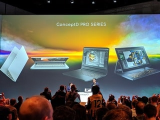 Acer ConceptD Pro Series, Predator Triton 300, Swift 5 Laptops, New Chromebooks Launched at IFA 2019