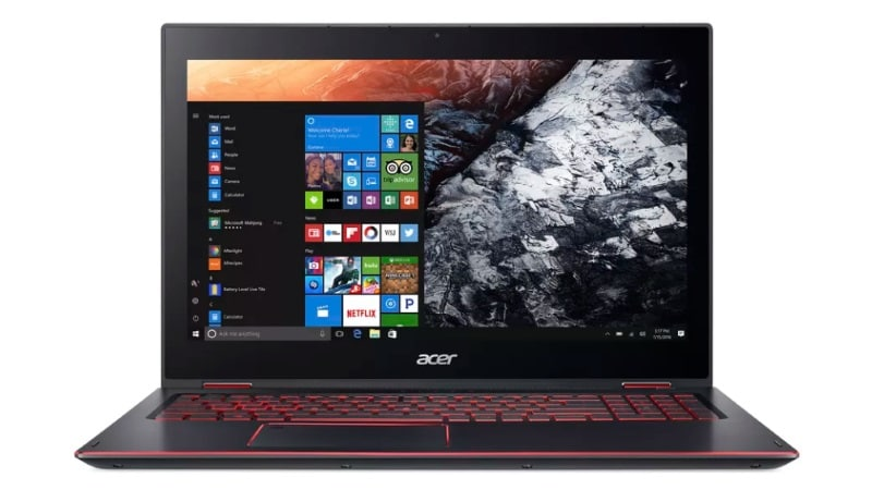 Acer Nitro 5 Spin Affordable Gaming Laptop Launched With Eighth-Gen Intel Processors