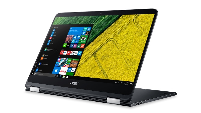 Acer Spin 7 'World's Thinnest Convertible Laptop' Launched at Rs. 1,09,000