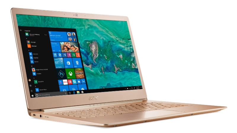 Acer Swift 5 Laptop, Weighing a Mere 970 Grams, Launched in India: Price, Specifications, Features