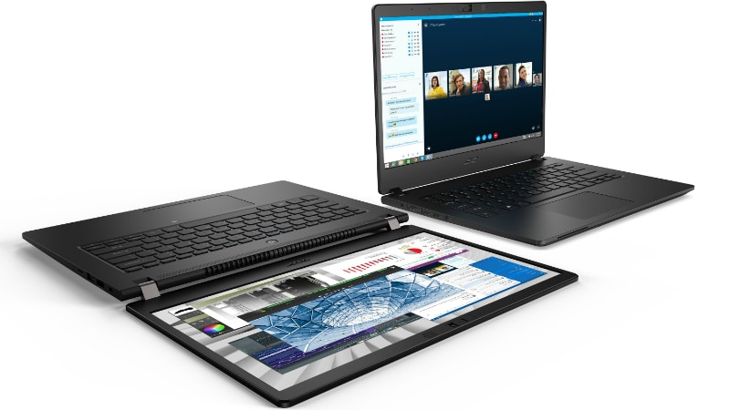 Acer TravelMate P614-51 Durable Notebook, Predator Orion 5000 Gaming Desktop, 43-Inch Predator Monitor Debut