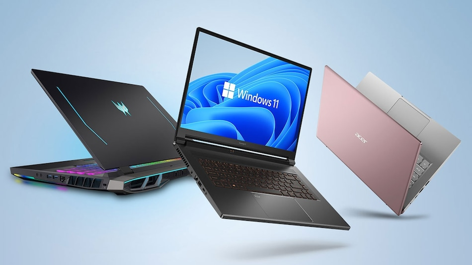 Acer Launches Six New Windows 11 Laptops in India, Unveils 3 Additional Models Globally