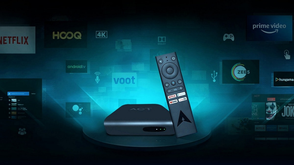 ACT Stream TV 4K Android-Based Media Streaming Box Now Available on Rental Basis