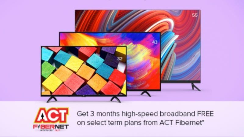 act fibernet xiaomi mi tv ACT Fibernet  Xiaomi  Xiaomi Mi TV   Xiaomi Mi LED TV