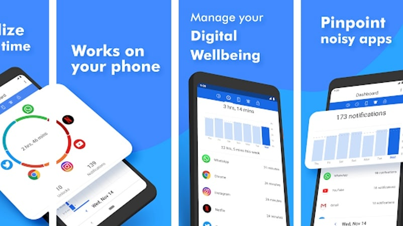 ActionDash App Brings Google Digital Wellbeing-Style Features to More Android Phones