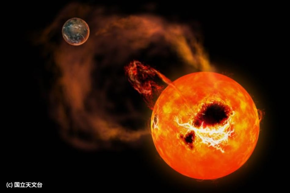 Nearby Red Dwarf Star 'AD Leonis' With Massive Solar Flares Spotted