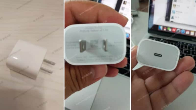 2018 iPhone Models' 18W USB-C Fast Charging Adapter Leaked in Photos