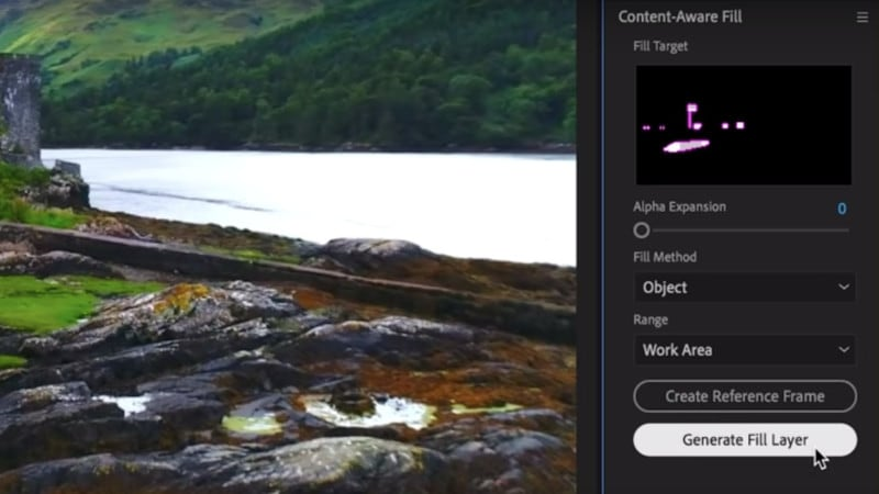 Adobe After Effects Gets Content-Aware Fill for Videos to Remove Unwanted Objects