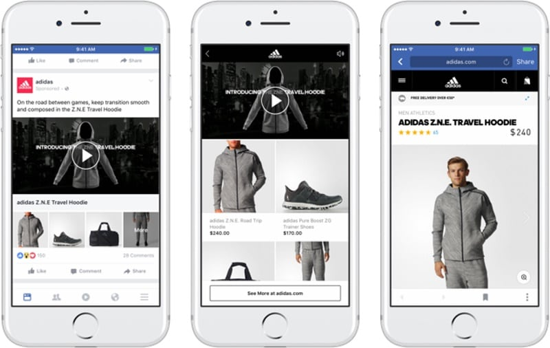 Facebook Unveils New Shopping Ad Format 'Collection'