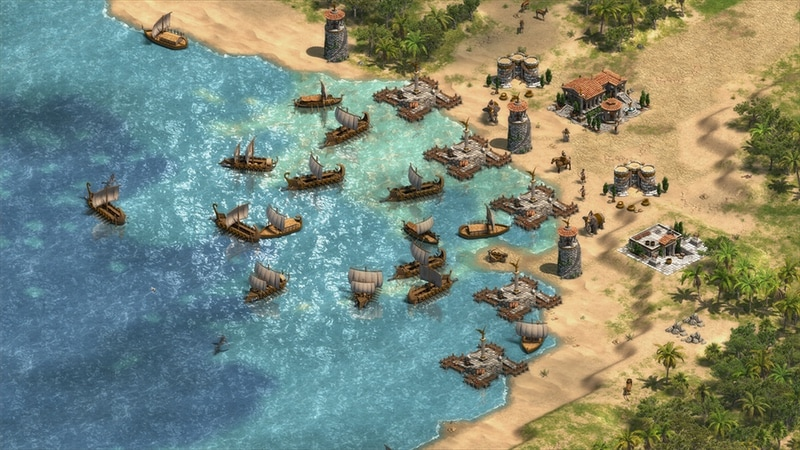 age of empires definitive edition phoenican harbour Age of Empires