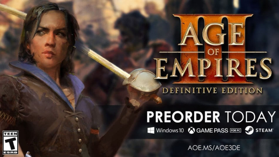 Age of Empires III: Definitive Edition Revealed at Gamescom 2020, Release Date Set for October 15