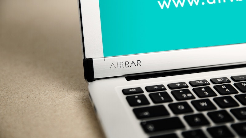 Want a Touchscreen on Your MacBook? AirBar Might Be the Answer