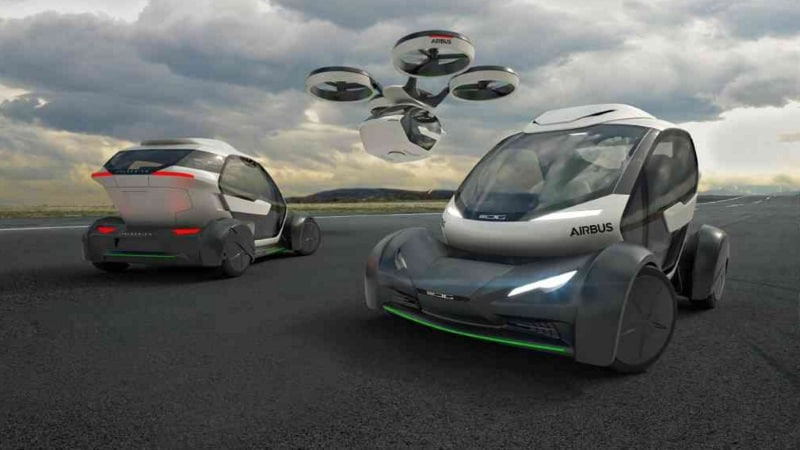 Airbus Pop.Up System Is a Flying Car Concept With Modular Design