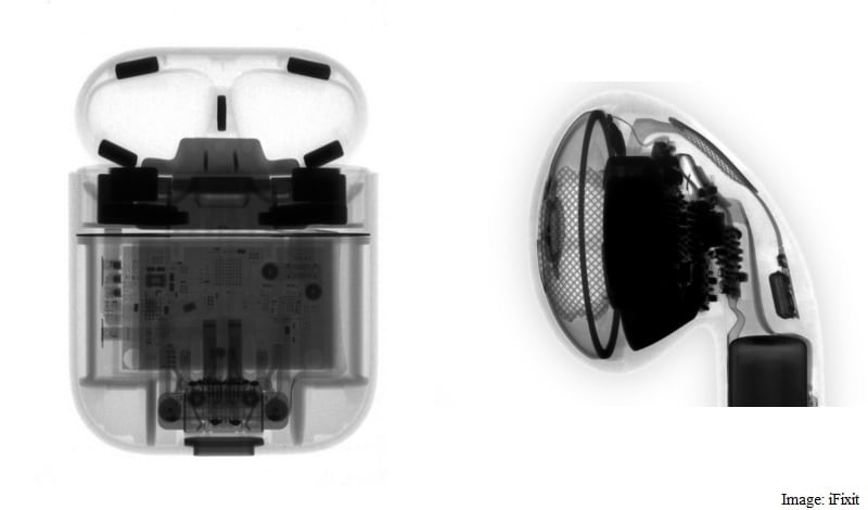 Apple AirPods Pack a Tiny 93 Milliwatt Battery and Are Durable Against Impact and Water, Tests Reveal