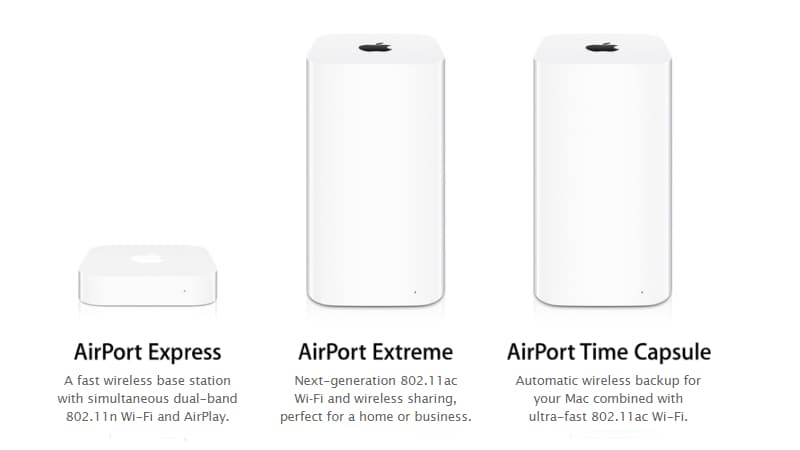 Apple AirPort Wireless Routers Discontinued, Available Until Stocks Last