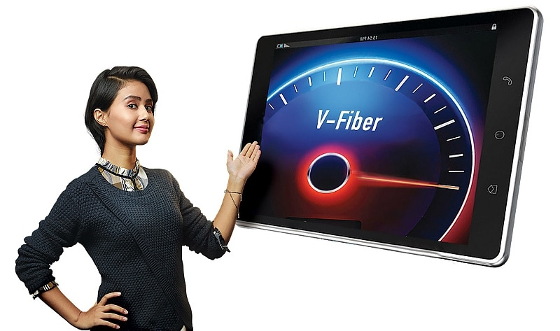 Airtel V-Fiber Broadband Service Launched; Free Unlimited Voice Calling Extended to All Customers