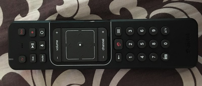 airtel Internet TV remote Airtel Internet TV remote