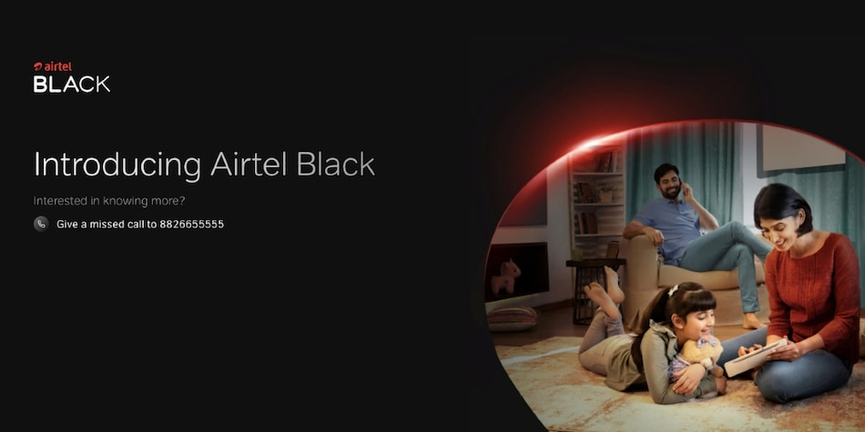 Airtel Black Debuts to Let Users Combine Postpaid, DTH, Fibre Services Under One Single Bill