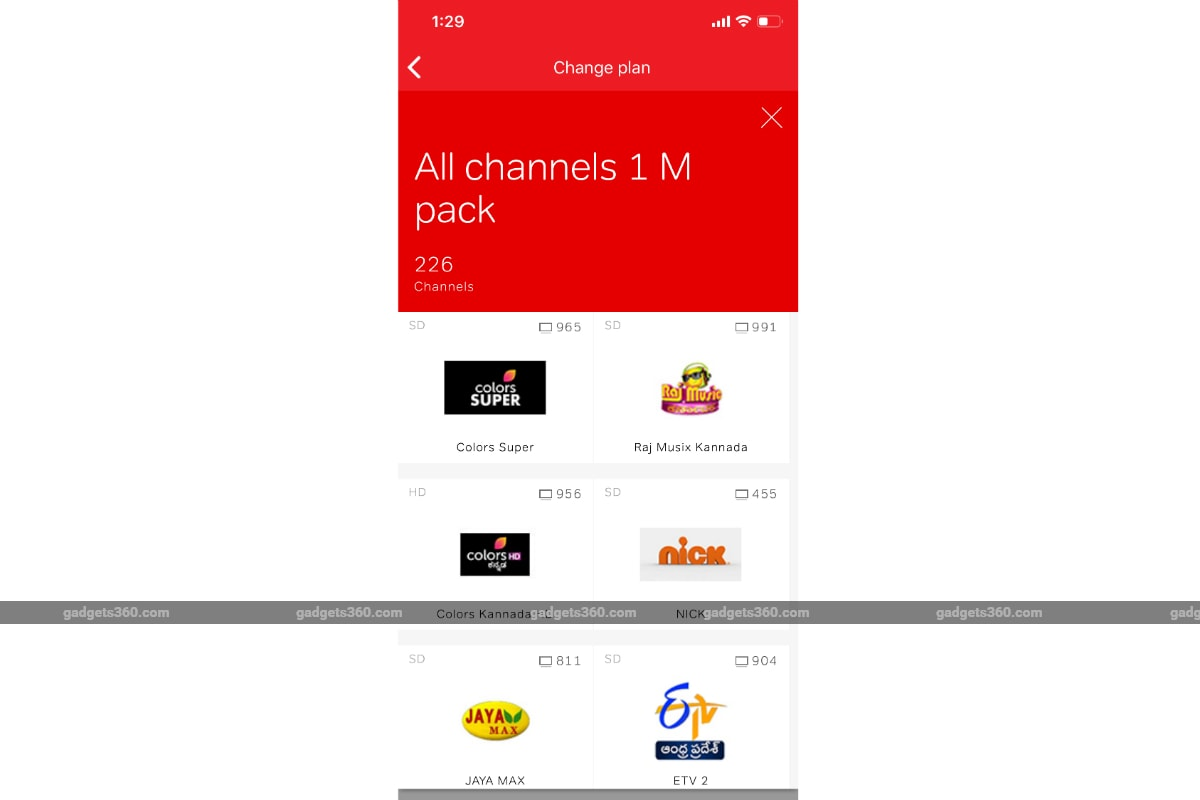 airtel digital tv all channels pack gadgets 360 Airtel Digital TV Airtel