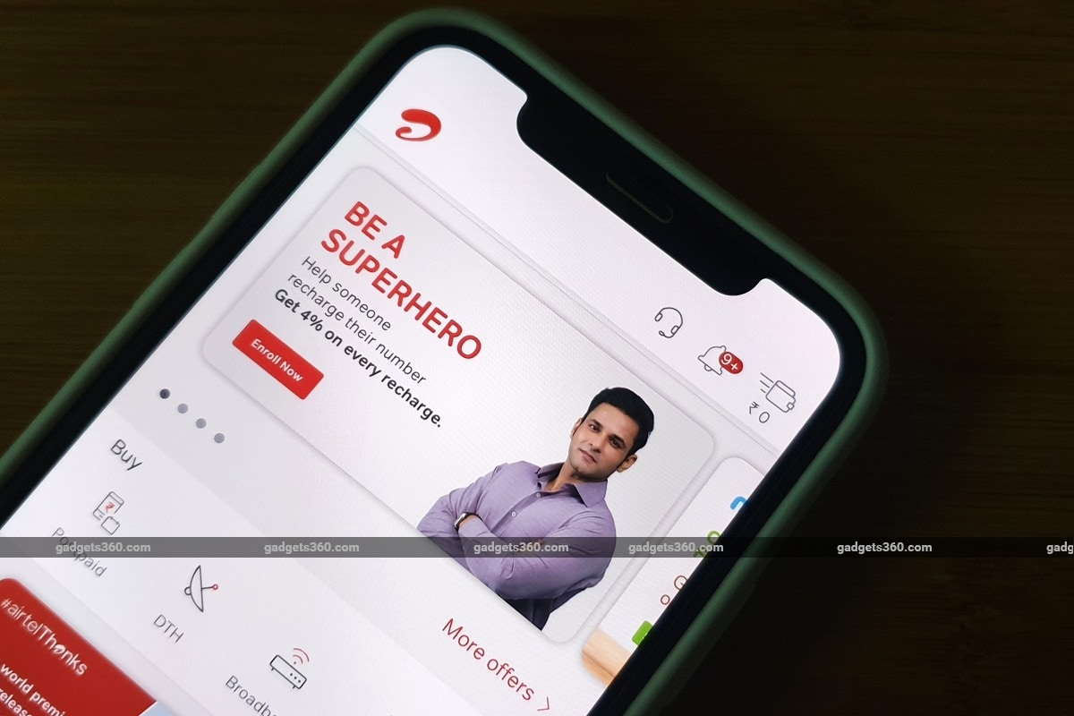 Airtel Silently Modifies Superhero Programme to Reduce Discounts on Recharge Plans