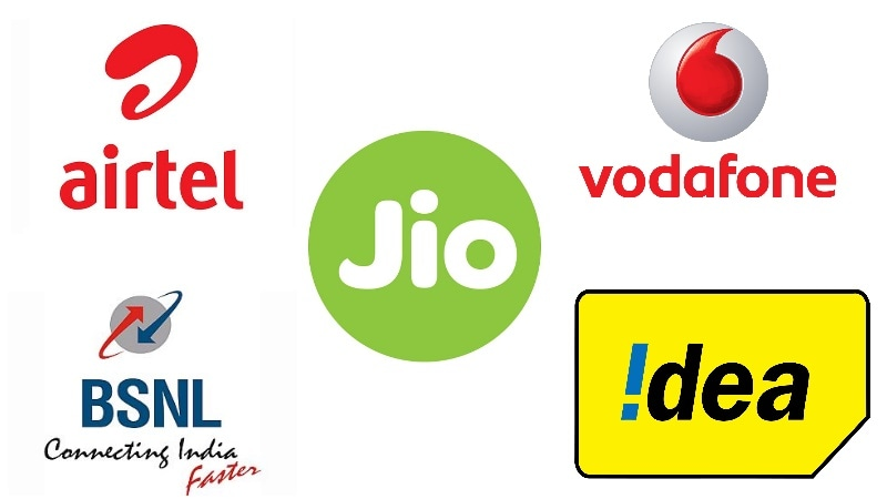 Jio vs Airtel, Vodafone, Idea, BSNL, Aircel – These Are the Best Data, Calling Plans