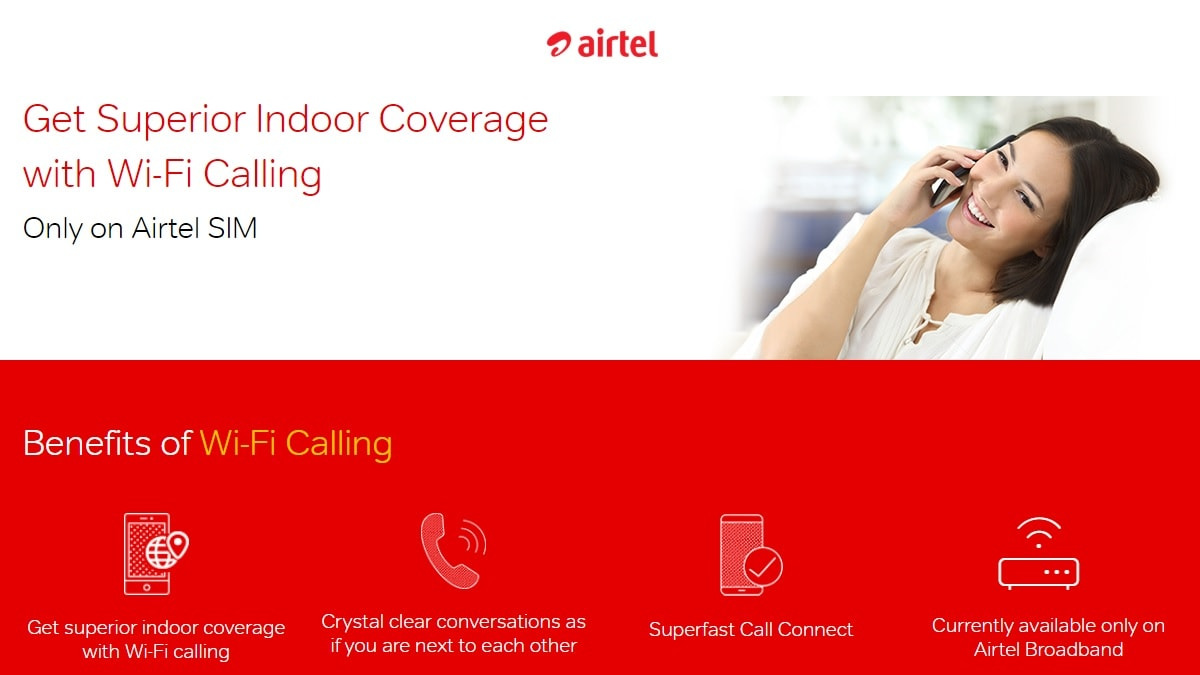 Airtel Wi-Fi Calling Launched in Delhi NCR: Everything You Need to Know