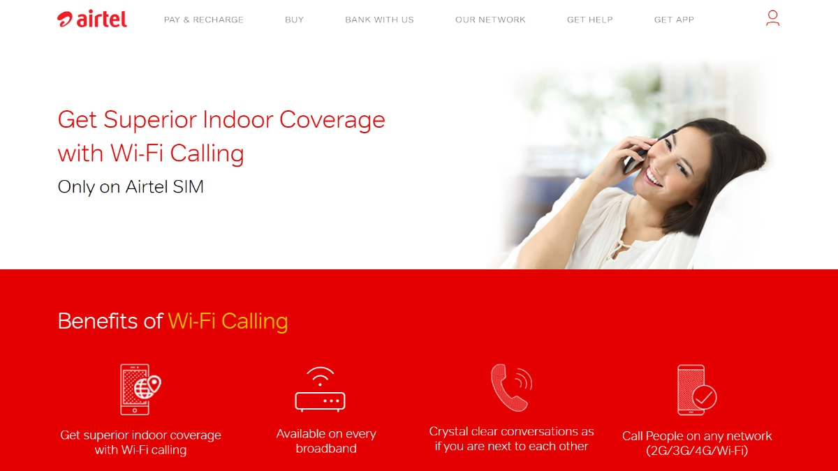 Airtel WiFi Calling Crosses 1 Million Users
