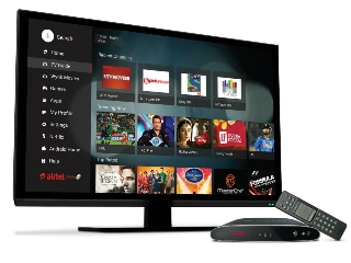 Airtel Internet TV Set Top Box Supports TV Channels, Netflix, YouTube, Games, and More