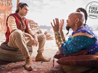 Aladdin Photos: First Look at Disney's Live-Action Remake, Including Will Smith's Genie