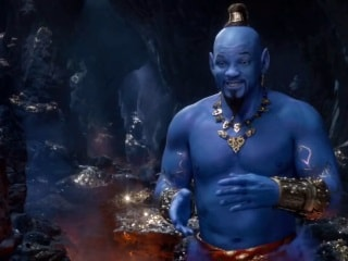 Aladdin Movie Trailer – Will Smith Appears in Blue Genie Avatar Form