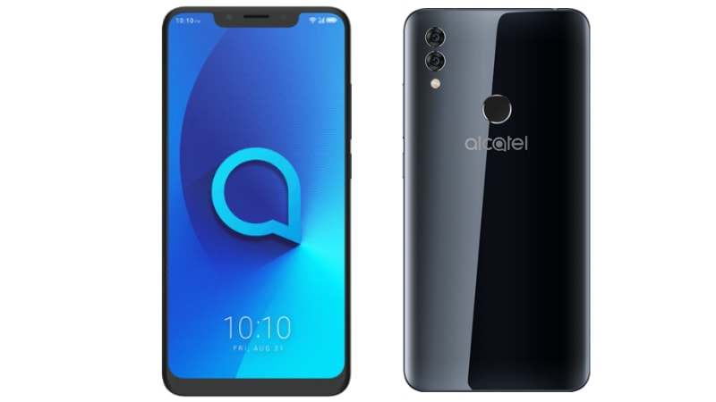 Alcatel 5V With Display Notch, Face Unlock, Dual Camera Setup Launched: Price, Specifications