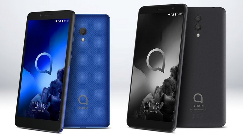 CES 2019: Alcatel 1x (2019), Alcatel 1c (2019) Budget Smartphones With FullView Displays Launched
