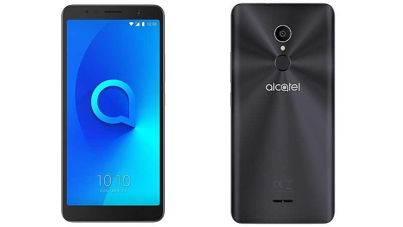 Alcatel 3C With 6-Inch 18:9 Display, 3000mAh Battery Launched: Price, Specifications