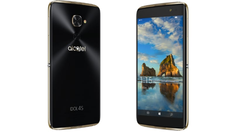 alcatel idol 4s with windows 10 mobile qualcomm snapdragon 820 soc launched technology news. Black Bedroom Furniture Sets. Home Design Ideas