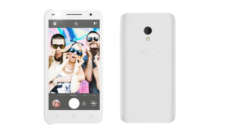 Alcatel U5 HD With Android Nougat, Front Flash Launched