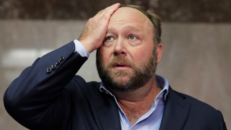 Twitter hits Alex Jones and Infowars with permanent bans