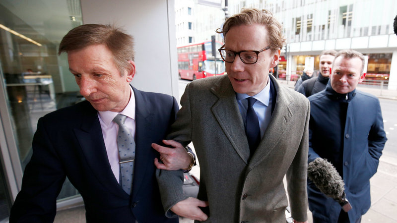 Cambridge Analytica Played Key Trump Campaign Role, CEO Says in UK TV 'Sting'