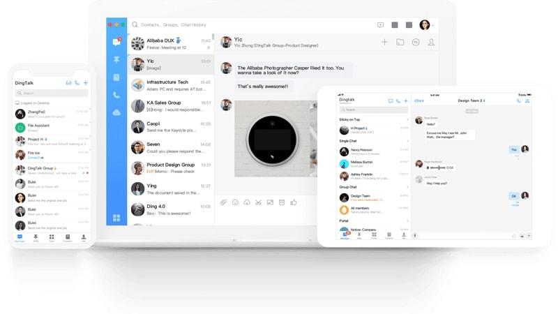 Alibaba-Owned DingTalk Enterprise Chat App Enters India