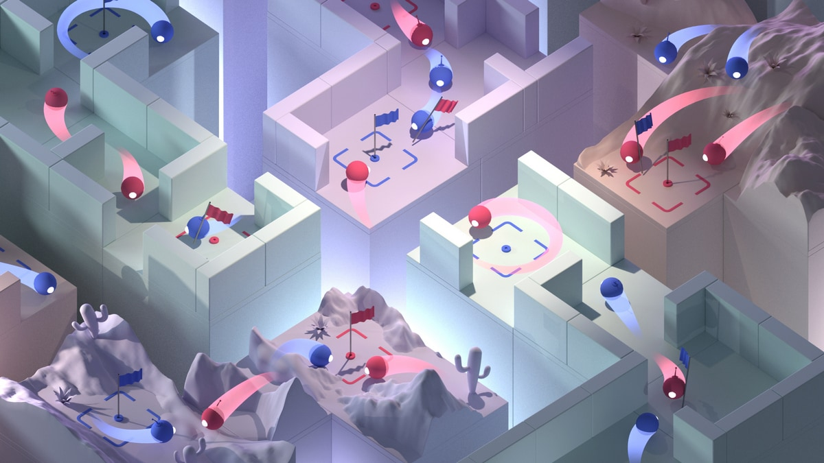 Alphabet's DeepMind AI Beats Humans in Multiplayer Shooter