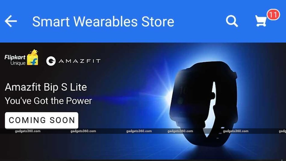 Amazfit Bip S Lite Smartwatch Launching in India Soon, Flipkart Teaser Suggests